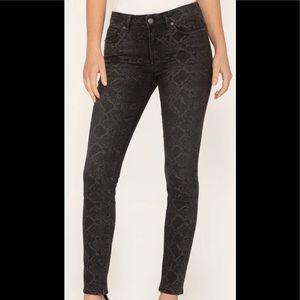 Miss me python snake print skinny jeans 🐍